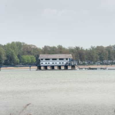 Sights of the lake and the Buffalo Canoe Club